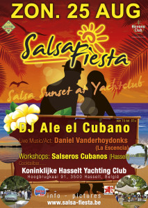 Salsa Fiesta zomer 2013 Yachting Club Hasselt