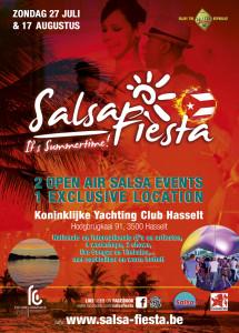 Salsa Fiesta zomer 2014 Yachting Club Hasselt