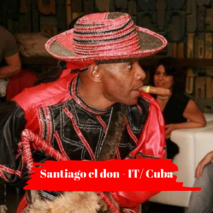 Santiago el don internationaal artiest ( IT)